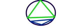 行動領域三角形(重なりなし)